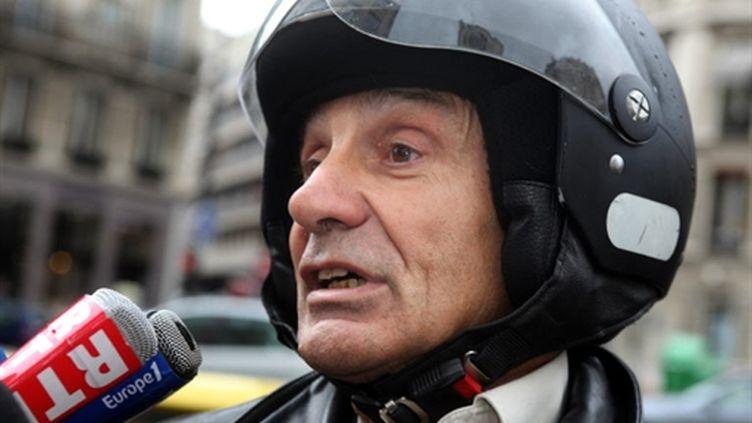 Le professeur Gilles Brücker, ex-exécuteur testamentaire de Liliane Bettencourt, le 8 septembre 2010 à Paris (AFP - Céline MIHALACHI)