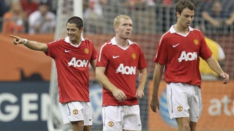 La joie de Ronald Martinez (Manchester United)