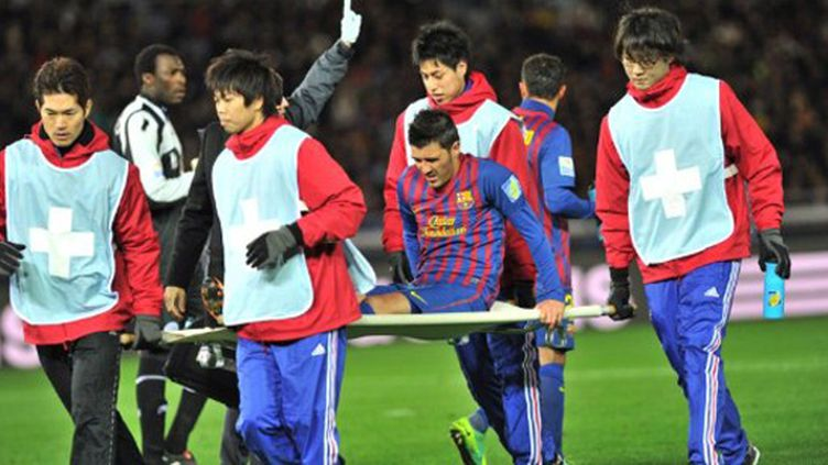 Villa et Messi en verve