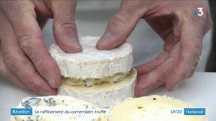 Le camembert fourré aux truffesd'Hervé Mons (France 3)