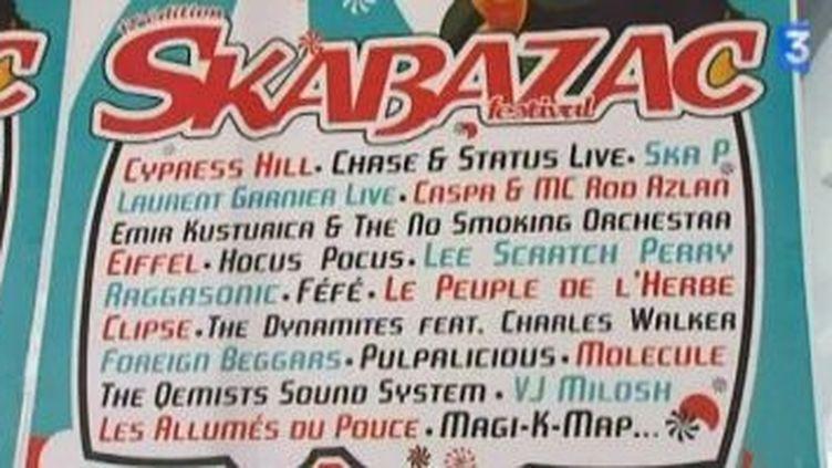 Cypress Hill, Laurent Garnier et Emir Kusturica invités de la 12ème édition de Skabazac  (Culturebox)