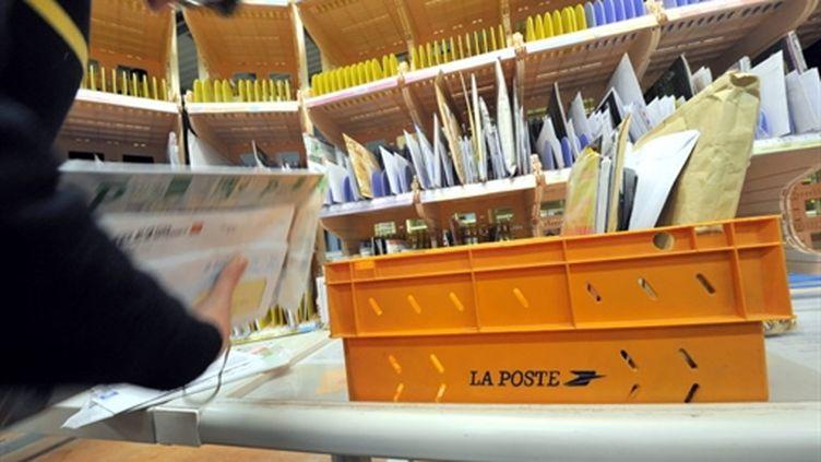 Dans un centre de tri postal (AFP - MYCHELE DANIAU)