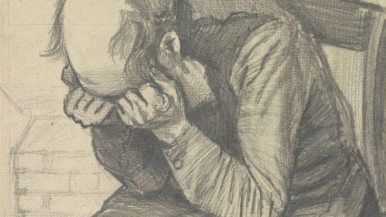 """Vincent van Gogh, """"Paysan usé"""" (détail), c. 24 November 1882, , Van Gogh Museum, Amsterdam  (Vincent van Gogh Foundation)"""