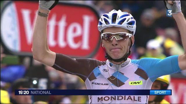Tour de France : Romain Bardet remporte la première victoire française