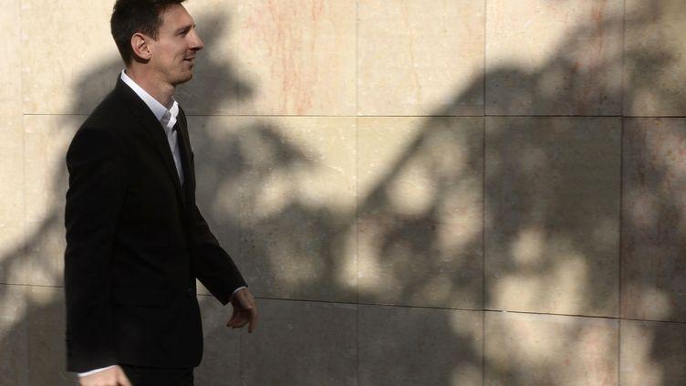 Lionel Messi vient d'acquérir un appartement luxueux à Paris. (LLUIS GENE / AFP)