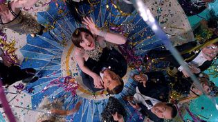 "Elizabeth DebickietTobey Maguire dans ""Gatsby le magnifique"" de Baz Luhurmann  (Warner Bros.)"