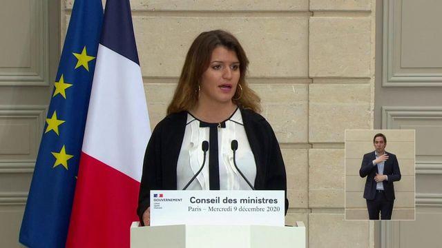 Marlène Schiappa s'est exprimée sur la polygamie, mercredi 9 décembre.