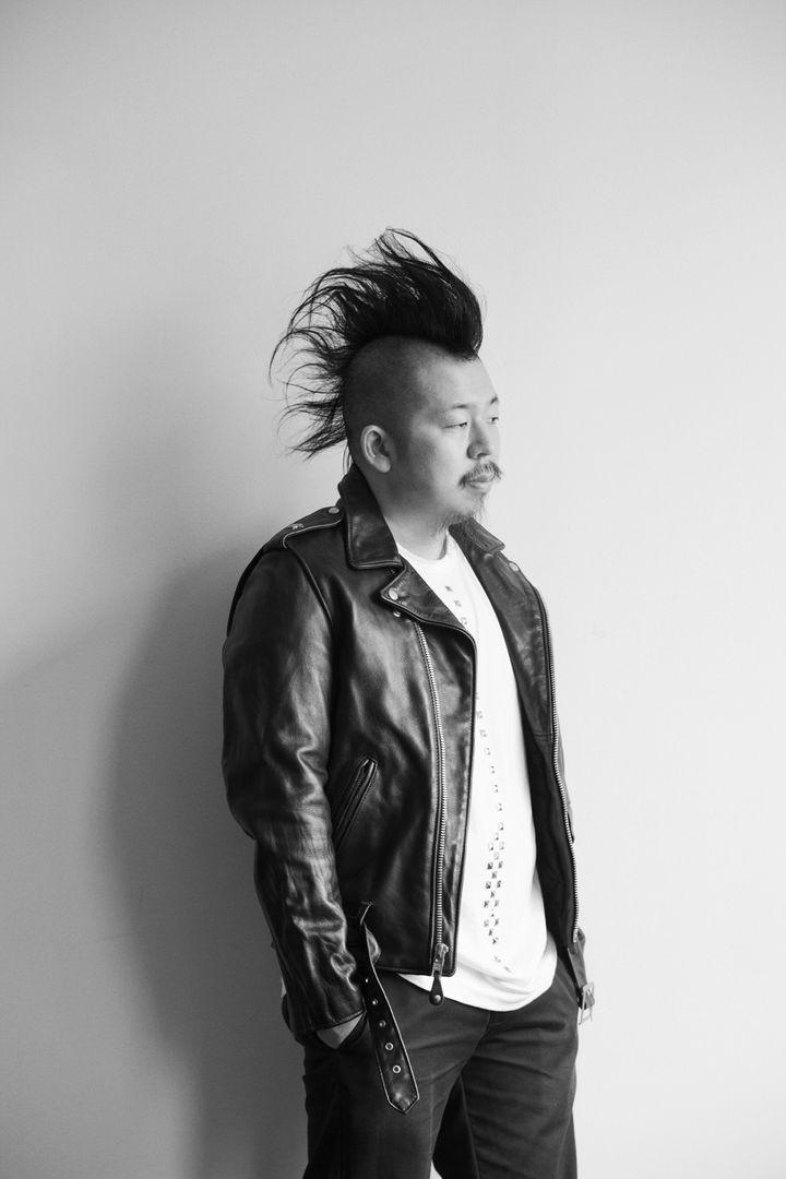 Le créateur Kei Ninomiya pour la marqueNoir Kei Ninomiya. (Fumihito Ishii)