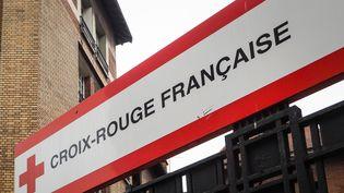 La Croix-Rouge française à Paris, en novembre 2018. (RICCARDO MILANI / HANS LUCAS / AFP)