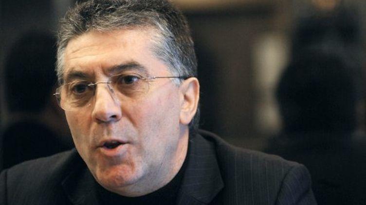Le sénateur Robert Navarro, exclu du PS en 2010 (AFP - PASCAL GUYOT)
