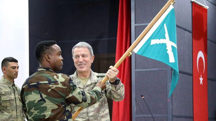 Environ 200 soldats et formateurs turcs seront stationnés dans la base militaire turque en Somalie. (Feisal Omar/Reuters)