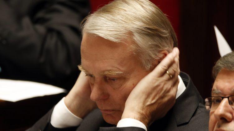 Jean-Marc Ayrault à l'Assemblée nationale, le 12 novembre 2013. (CHARLES PLATIAU / REUTERS)
