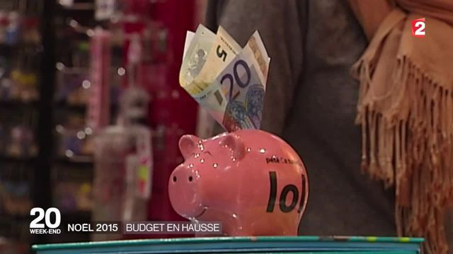 Noël : les Français dépenseront plus cette année