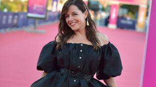 """Laure Calamy au 47e festival du cinéma américain de Deauville présente """"Une femme du monde"""" (MAXPPP)"""