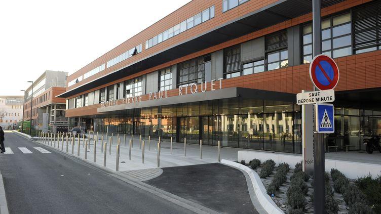 Un enfant de 21 mois est mort à l'hôpital Pierre-Paul Riquet, à Toulouse (Haute-Garonne), le 7 février 2015. (MAXPPP)