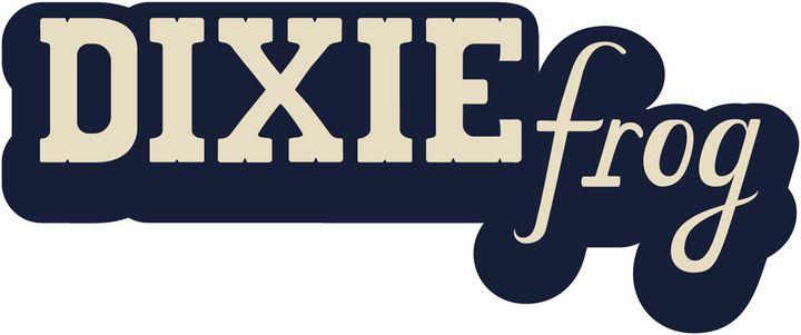 Le logo du label (Dixie Frog)