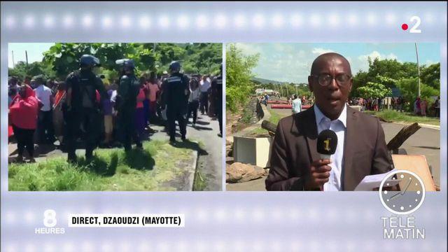 La tension reste vive à Mayotte