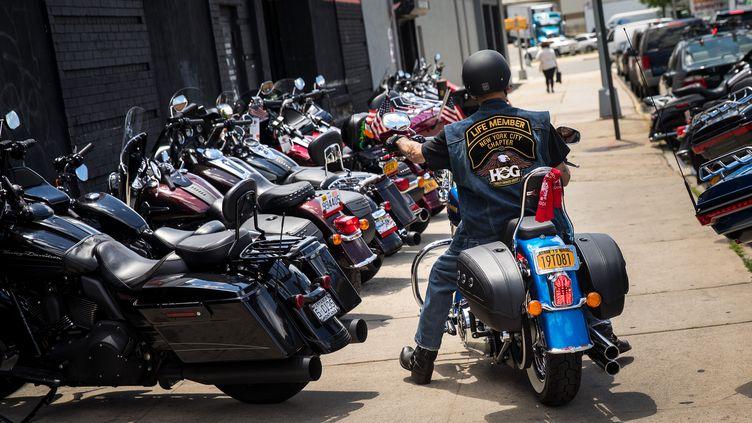 Le constructeur américain Harley-Davidson veut délocaliser une partie de sa production (DREW ANGERER / GETTY IMAGES NORTH AMERICA)