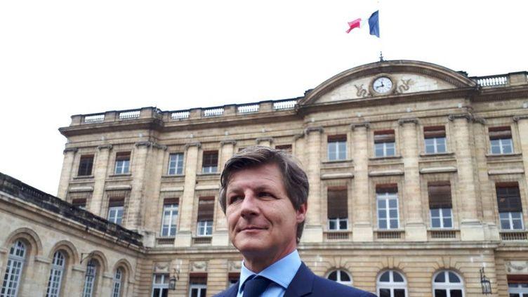 Nicolas Florian, l'adjoint aux finances d'Alain Juppé. (RADIO FRANCE / STEPHANIE BROSSARD)