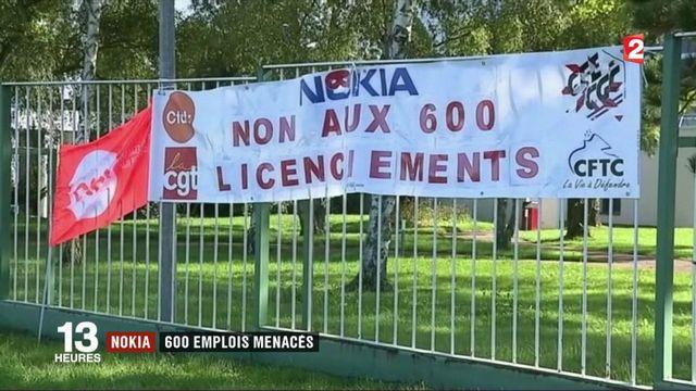 Nokia : 600 emplois sont menacés