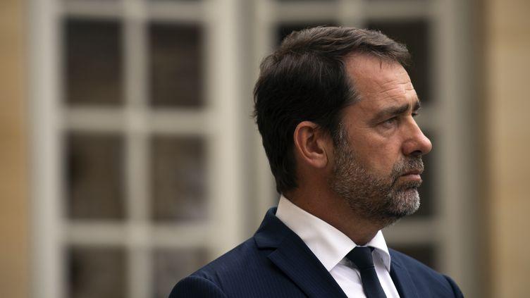 Le ministre de l'Intérieur Christophe Castaner, le 30 juillet 2019, à Paris. (LIONEL BONAVENTURE / AFP)