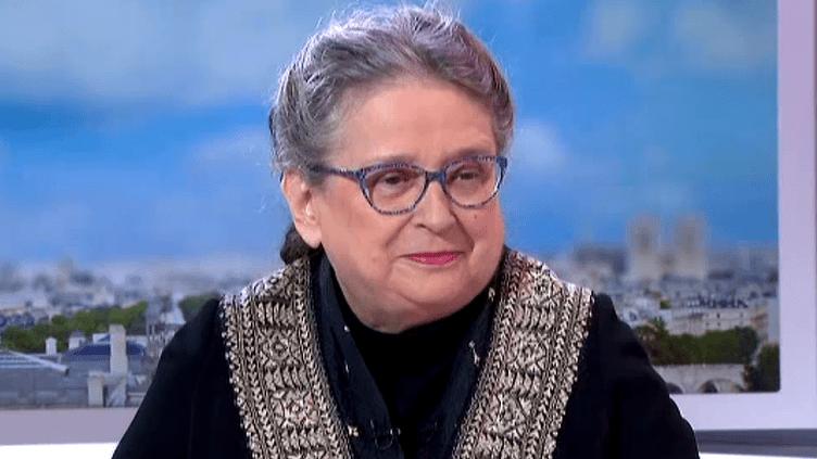 """Catherine Clément, auteur de """"Chirac, vie publique, archives privées""""  (France 3 / Culturebox)"""
