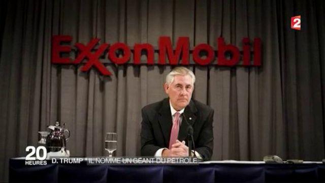 Donald Trump : il nomme un géant du pétrole