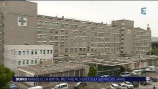 L'hôpital militaire Laveran à Marseille (France 3)