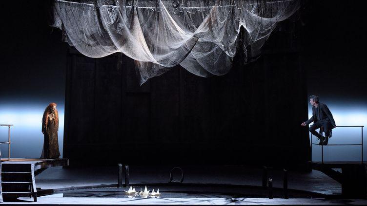 """""""Pelléas et Mélisande"""" de Debussy au Théâtre des Champs-Elysées, dans la mise en scène d'Eric Ruf.  (Vincent Pontet)"""