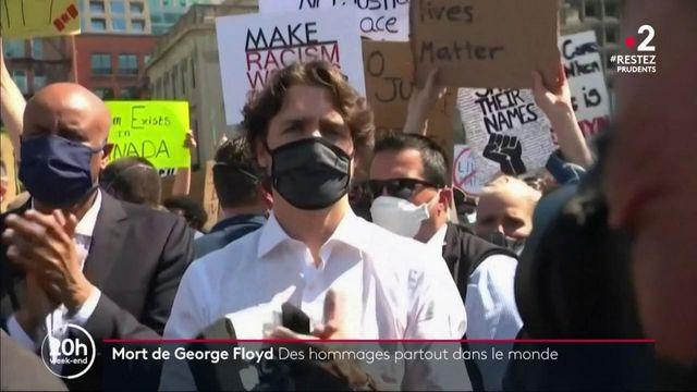 Mort de George Floyd : des hommages rendus partout sur la planète