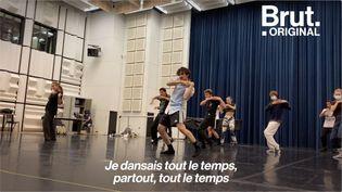 VIDEO. L'histoire de Mehdi Kerkouche, le danseur qui monte, qui monte (BRUT)