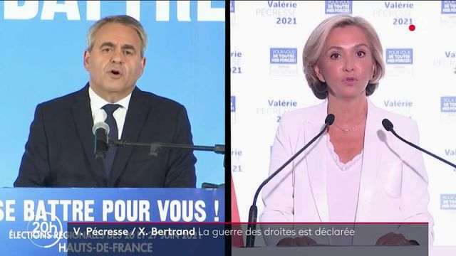 Campagne présidentielle : entre Valérie Pécresse et Xavier Bertrand, la guerre des droites est déclarée