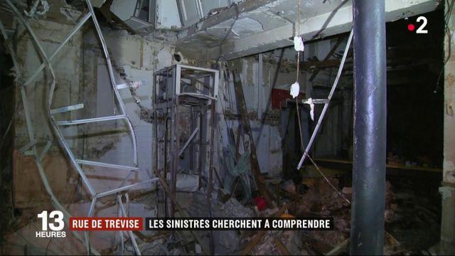 Rue de Trévise : le récit des pompiers