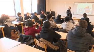 Classe de lycée (France 3)