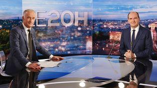 Jean Castex au 20h de TF1, le 21 octobre 2021. (LUDOVIC MARIN / AFP)