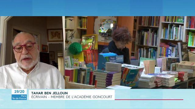 Interview de Tahar Ben Jelloun confiné