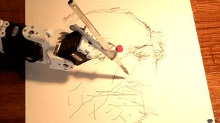 Paul, le robot dessinateur est l'invité star de la deuxième édition de Faste à Creil  (France 3 / Culturebox)