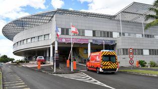 L'hôpital Taaone de Papeete, en Polynésie française, le 20 août 2021. (MIKE LEYRAL / AFP)