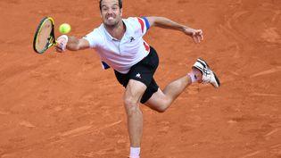 Richard Gasquert, le 2 juin 2018, à Roland-Garros. (MUSTAFA YALCIN / AFP)