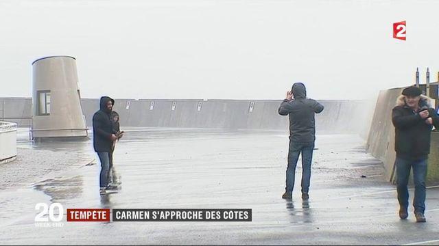 Tempête Carmen : de fortes rafales dans l'Ouest