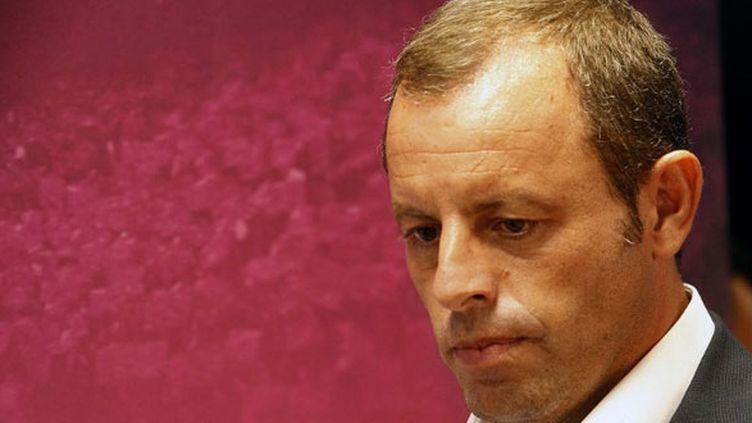 L'ex-président du FC Barcelone, Sandro Rosell