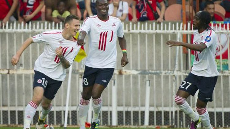 Avec son 21e but de la saison, Moussa Sow a participé au sacre des Lillois