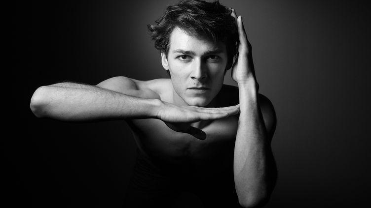 Hugo Marchand, danseur étoile à l'Opéra de Paris, le 7 mars 2019 (JOEL SAGET / AFP)