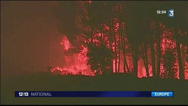 Incendie : au moins 57 morts dans un feu de forêt au Portugal