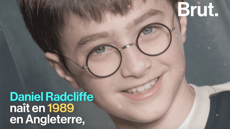 VIDEO. Daniel Radcliffe, de l'interprète d'Harry Potter à la personnalité engagée (BRUT)