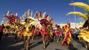 Le carnaval de Mindelo se déroule chaque année sur l'île de Sao Vicente au Cap-Vert. (MICHAEL RUNKEL / ROBERT HARDING HERITAGE)