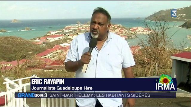 Saint-Barthélemy : les habitants sidérés après le passage d'Irma