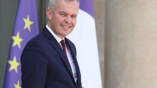 François de Rugy, le 29 mai 2019 au palais de l'Elysée. (LUDOVIC MARIN / AFP)
