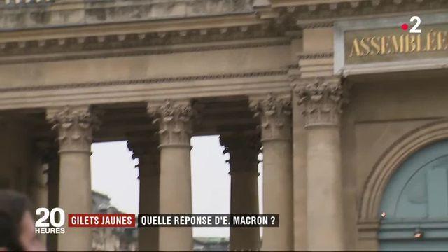 """""""Gilets jaunes"""" : quelle réponse d'Emmanuel Macron ?"""