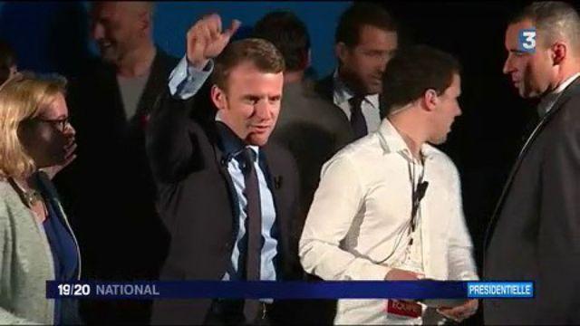 Présidentielle : Emmanuel Macron en Corse
